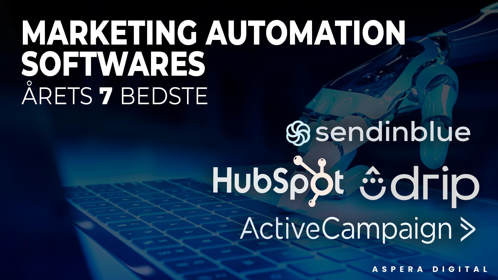 marketing automation softwares årets - blog